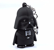 1pc LED Darth Vader Star War Action Figure Yoda Anakin Skywalker Figure Keychains