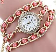 Ladies' Watch The New Variety Of Color Pearl Bracelet Table
