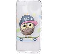 Für iPhone 6 Hülle / iPhone 6 Plus Hülle Transparent / Muster Hülle Rückseitenabdeckung Hülle Eule Weich TPUiPhone 6s Plus/6 Plus /
