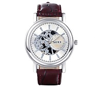 XU Men's Fashion Hollow-out Quartz Watch