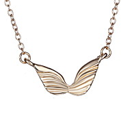 Japan And South Korea Angel Wings Fashion Simple Necklace