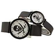 Personality skull couple watches (men and women each one)