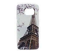 Iron Tower PC Phone Back Cover Case for Galaxy S7