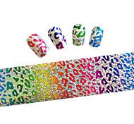 10pcs 100cmx4cm  Glitter  Nail Foil Sticker  DIY Beauty  Nail Decorations  Sticker STZXK01-49