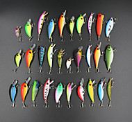 Fishing Lures 30pcs 1.5-9g Minnow Popper Vib Crank