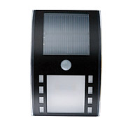 3LEDS White Color Solar Powered LED PIR Motion Sensor Outdoor Path Wall Light Garden
