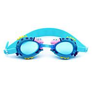 Swimming Goggles Kid's Anti-Fog Silica Gel PC Dark Blue / Red / Pink / Blue Red / Pink / Blue / Dark Blue