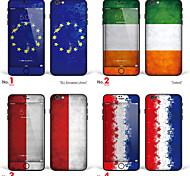 """iPhone 6 Plus / 6s mais arte corporal adesivo de pele: """"eu, União Europeia, Irlanda, Polónia, Países Baixos, Holland"""" (série bandeiras)"""