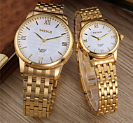 The fashion of ceramic white quartz contracted wrist watch  waterproof