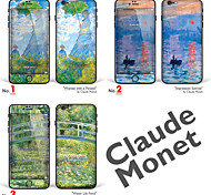 "iPhone 6 Plus/6S Plus Body Art Skin Sticker: ""Works by Claude Monet (Part 1 of 3)"" (Masterpieces Series)"