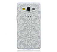 Lace Flowers Pattern TPU Material Phone Case for Samsung Galaxy A3/A5