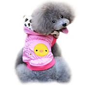 Dog Coat Pink / Yellow Dog Clothes Winter Fashion