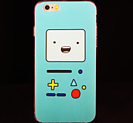 Nintendo Game Girl IMD Printed TPU Soft Back Cover for iPhone 6/6S(Assorted Colors)