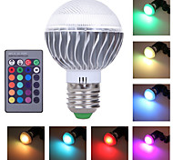 HRY® E27 3W RGB with Remote Control Multiple Colour RGB LED Bulb(85-265V)