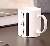 tazza di ceramica tazza termometro