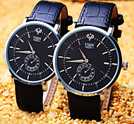Couple's Round Dial Business Fashion Life Waterproof Dress Watch (Assorted Colors) Cool Watches Unique Watches