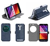"Flip Leather  cellphone Case Cover Holder Stand For ASUS Zenfone2 Laser ZE550kl 5.5"""