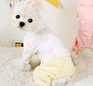 Dog Coat White / Blue / Pink Winter Fashion