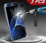 logrotate® Premium gehärtetem Glas-Schirmschutz für Samsung-Galaxie s7 / s6 (3 Stück)