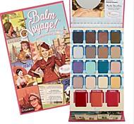 19 Lidschattenpalette Trocken Lidschatten-Palette Puder NormalAlltag Make-up / Halloween Make-up / Party Make-up / Feen Makeup / Cateye