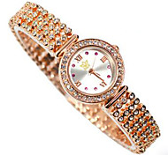 Fashion Diamond Watches Personality Chain Design Lady