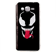 Grimace Pattern TPU Soft Case Phone Case For Samsung Galaxy J5/J1/G530