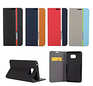 Retro Fashion Deluxe Leather flip Wallet Stand Case For Galaxy Note 3/Note 4/Note 5/Note Edge