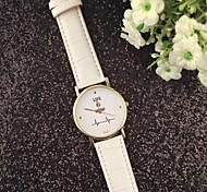 ECG New Sale Luxury Blu Mirror Quartz Watch Fashion Women Casual Watches Retro Leather Couple WristWatches Reloj Muje