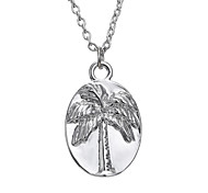 Fashion Simple Tree English Necklace