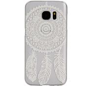 Dreamcatcher Pattern Frosted Transparent PC Phone Case for Samsung Galaxy S5/S7/S4 Mini/S5 Mini/S6 edge/S7 edge/S7 Plus