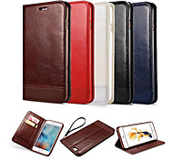 Luxury Genuine Leather Wallet Card Slot Cover Flip Case With Stand For Sumsung Galaxy S6/S6 edge/S7/S7 edge
