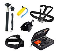 7 GoPro-Zubehör Halterung / Einbeinstativ / Stativ / Träger / Taschen / Schraube / Boje / Accessoires Kit / Handgriffe FürGopro Hero 3+ /