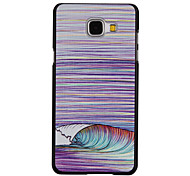 Wave Pattern PC Material Phone Case for Samsung Galaxy Galaxy A3(2016)/Galaxy A5(2016)/Galaxy A7(2016)