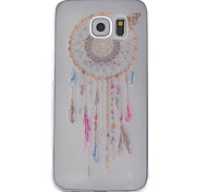 For Samsung Galaxy Case Transparent Case Back Cover Case Dream Catcher TPU Samsung S6 / S5