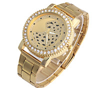 Ladies' Watch Diamond Leopard Quartz watch Dial Strip Personality