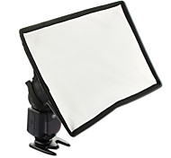 sidande fotografía mini kit difusor de flash softbox portátil 15x17cm flash de Canon Nikon DSLR Speedlite Samsung