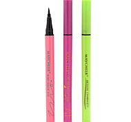 Eyeliner Crayons Humide / Mat Cils courbés / Longue Durée Multicolore Yeux 1 1 Make Up For You
