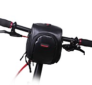 Hüfttaschen / Fahrradlenkertasche Camping & Wandern / Radsport Für Alles Handy ( Wasserdicht / tragbar , Schwarz / Biskuit ,Nylon / PU