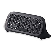 [Upgrade Version] 2.4Ghz Mini Wireless  Keyboard Gaming  Chatpad  Gamepad Text Messenger Compatible w/ Audio Device
