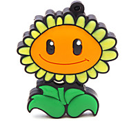 ZPK47 64GB Flower Sunflower USB 2.0 Flash Memory Drive U Stick