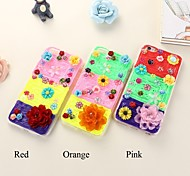 TPU caso de volta colorido para iphone6,6s (cores sortidas)