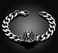 Spider Personality Retro Men's Stainless Steel Bracelet