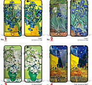 "iPhone 6/6S Body Art Skin Sticker: ""Works by Vincent van Gogh (Part 2 of 3)"" (Masterpieces Series)"