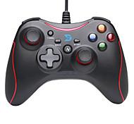 zhidong® negro& n rojo controlador wireled para PS3 / teléfono androide / caja de TV / PC