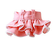 Dog Dress Pink / Yellow Dog Clothes Spring/Fall Fashion
