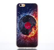 motif cd toxicomane tpu couverture souple pour iPhone6 ​​/ 6s