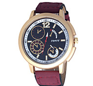 Men's Watch Outdoor Leisure Sports Fashion Leather Mens Watch Wrist Watch Cool Watch Unique Watch