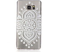 Lace Chinese Knot Pattern TPU Material Phone Case for Samsung Galaxy Note 5/4/3