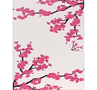 Plum Blossom Folio Leather Stand Cover Case With Stand for iPad 4/3/2