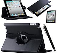 rétine ipad 360 rotation Flip Stand cuir PU smart couverture de cas pour l'ipad mini-1/2/3